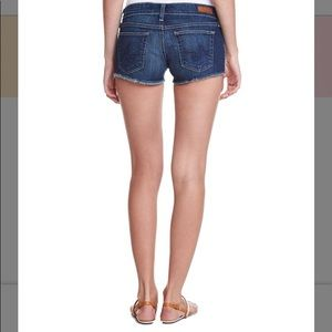 Ag Adriano Goldschmied Shorts - AG the Daisy super low rise shorts